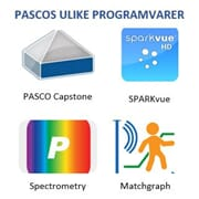 PASCOs programvarer for datalogging